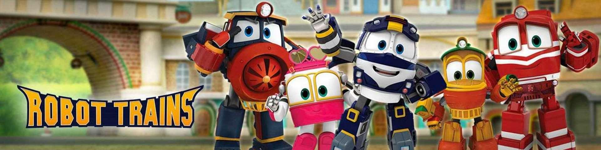 Баннер Роботы поезда