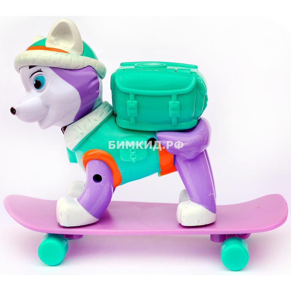 Эверест со скейтом Paw patrol