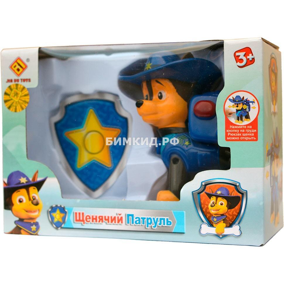 Гонщик в ковбойской шляпе (8,5 см) Щенячий патруль (Paw patrol)
