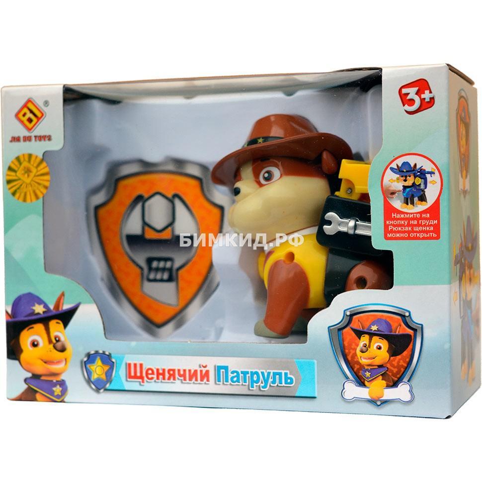 Крепыш в ковбойской шляпе (8,5 см) Щенячий патруль (Paw patrol)