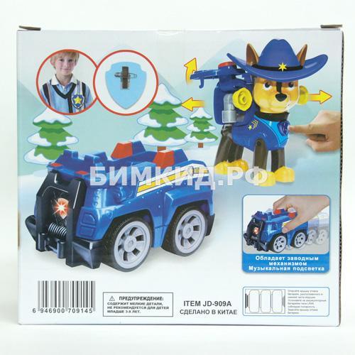 Гонщик с машинкой в ковбойской шляпе Paw patrol