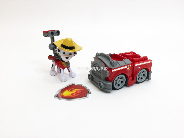 Маршал с машинкой в ковбойской шляпе