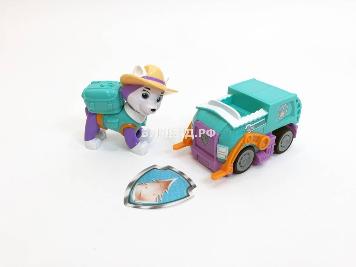 Эверест в ковбойской шляпе Paw patrol