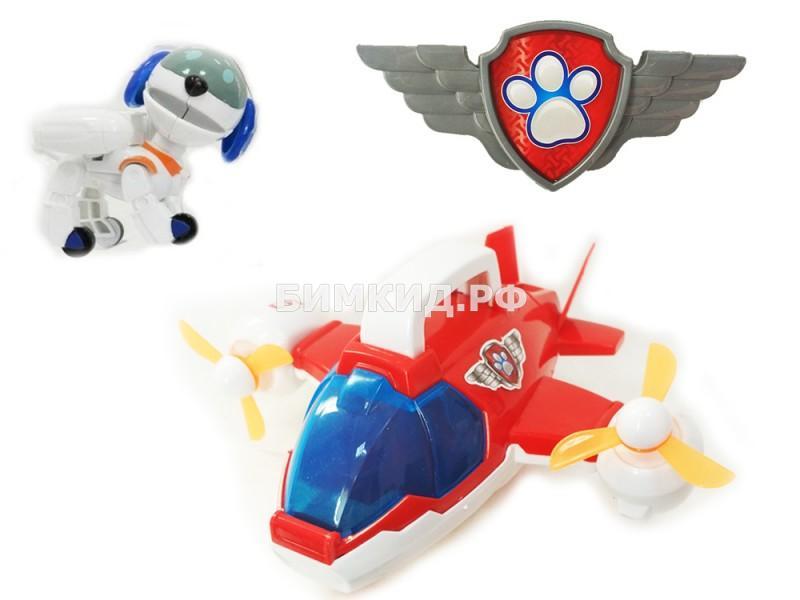 Самолет Спасателей и Робопес Щенячий патруль (Paw patrol)