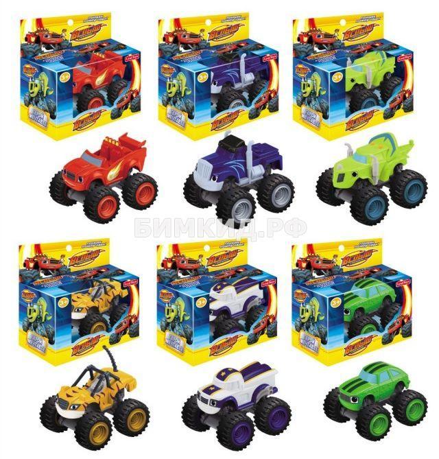 Набор из 6 машинок (8 см) в отдельных коробках (Вспыш и Чудо-машинки)