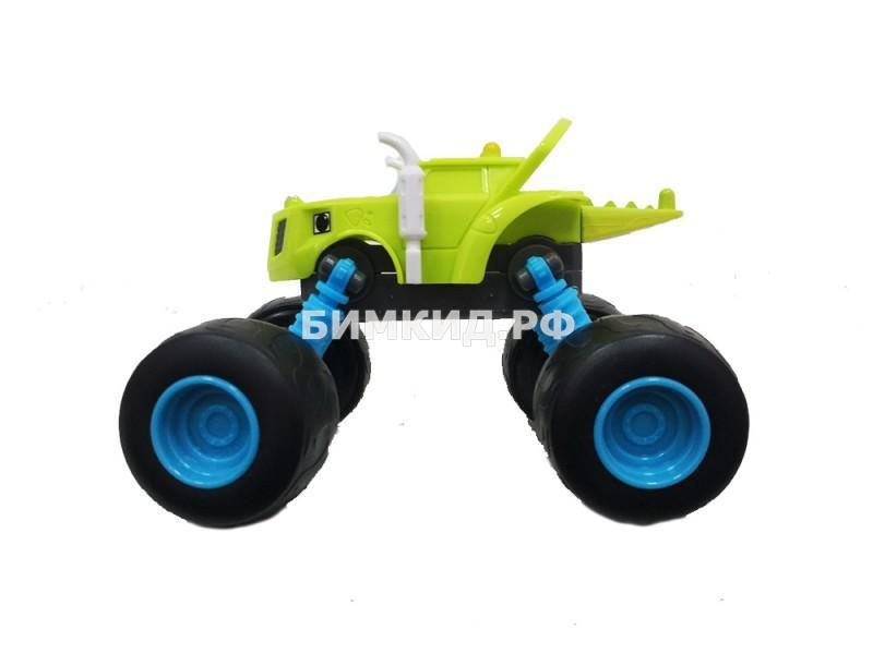 Машинка Зэг с раздвижными колесами Вспыш и Чудо-машинки