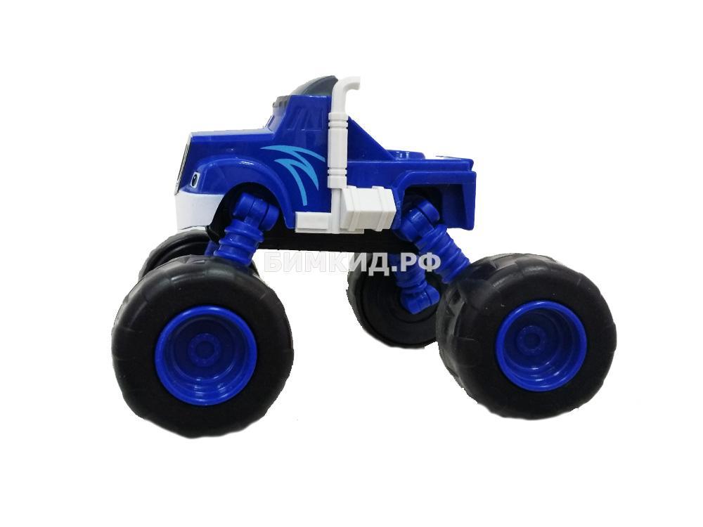 Машинка Крушила с раздвижными колесами