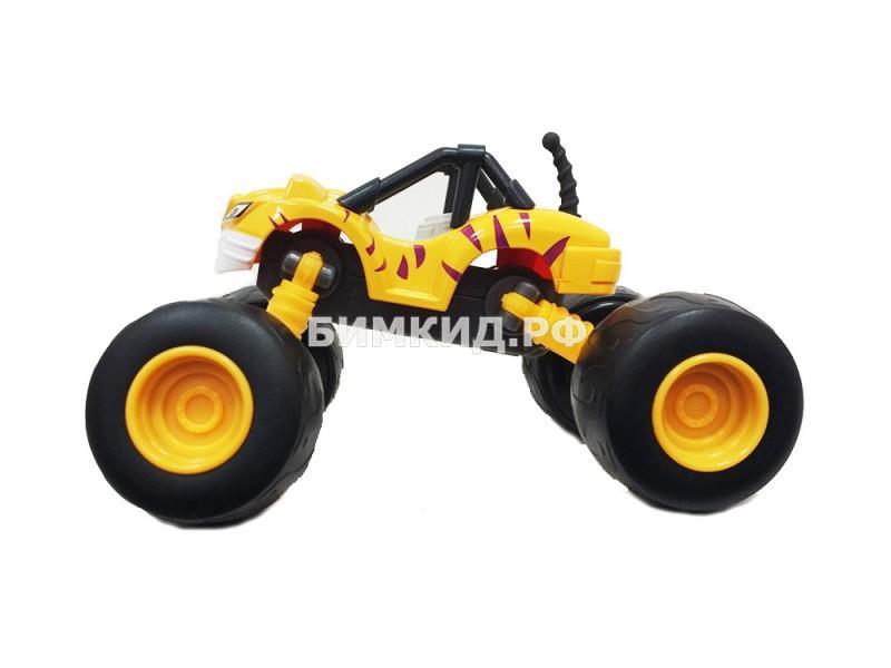 Машинка Рык с раздвижными колесами
