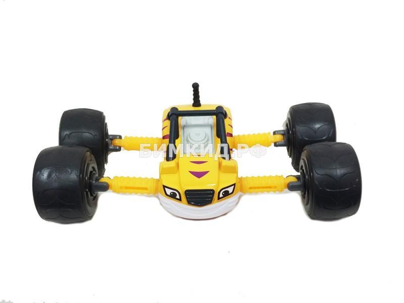 Машинка Рык с раздвижными колесамиВспыш и Чудо-машинки