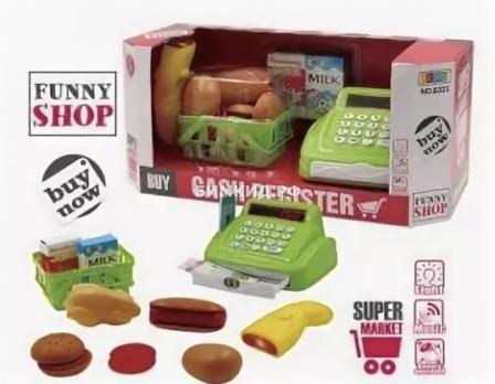 Кассовый аппарат Cash register на бетарейках