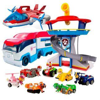 Комбо-набор Офис спасателей+Патрулевоз+9 героев с машинами 2 поколение+ Патрулелет (Щенячий патруль)