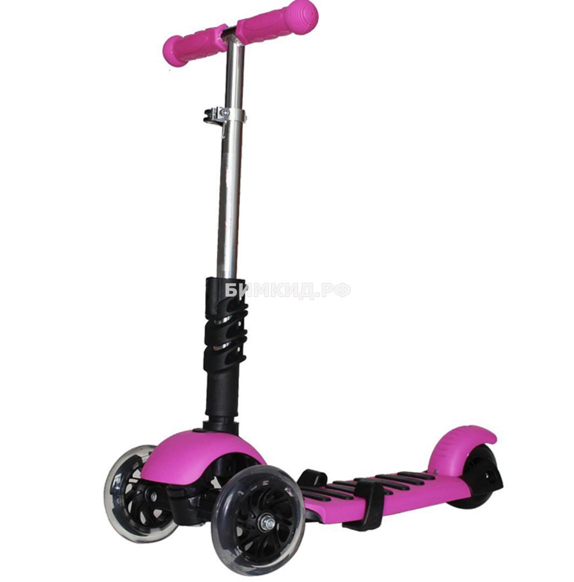 Самокат Scooter (с музыкой и светящиеся колесами)