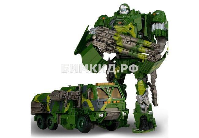 Огромный (38 см) Хаунд, робот-трансформер со световыми и звуковыми эффектами, The Latest Series