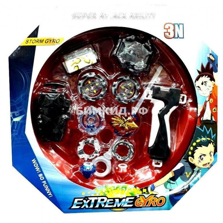 "Набор Арена ""Extreme Gyro"" + 2 волчка БейБлэйд / BeyBlade с пусковыми устройствами"