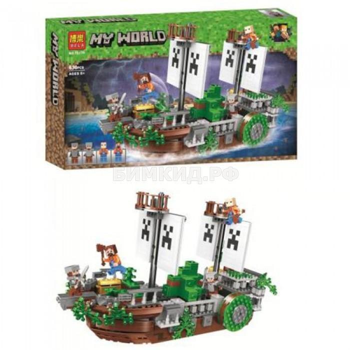 Конструктор Minecraft «Сражение на корабле» 630 дет. арт. 11139
