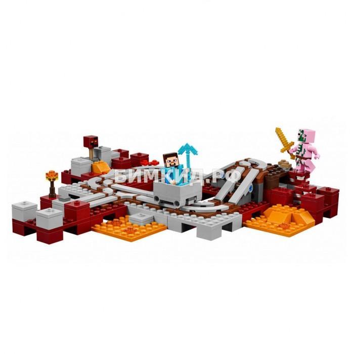 """Конструктор BELA Minecraft """"Подземная железная дорога"""" 399дет. арт. 10620"""