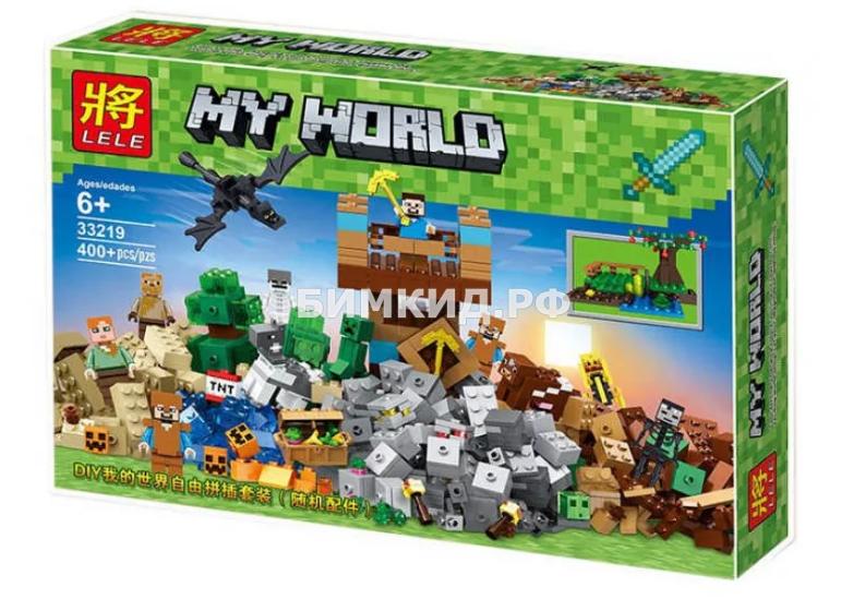 """Конструктор Lele Minecraft """"Замок Священной Войны"""" 400+ дет. арт. 33219"""