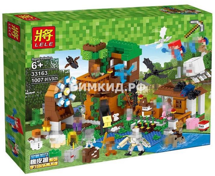 """Конструктор LELE Minecraft """"Загородный дом"""" 1007дет. арт. 33163"""