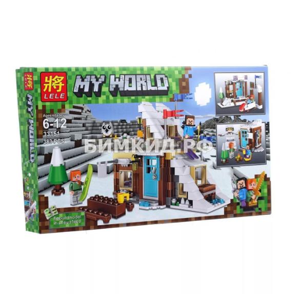 """Конструктор Lele Minecraft """"Спортивная база"""" 383 дет. арт.  33151"""