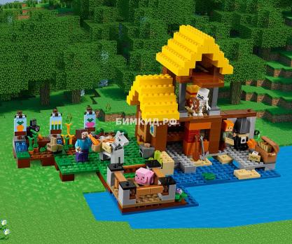 """Конструктор Bela Minecraft """"Фермерский коттедж"""" 560 дет. арт. 10813"""