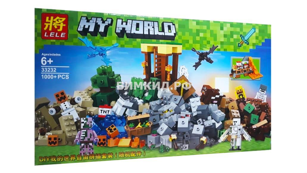 """Конструктор Minecraft """"Падение мира"""" 1000 дет. арт. 33232"""