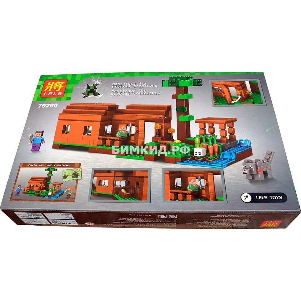 "Конструктор Lele Minecraft ""Дом Стива и Алекса"" 322 дет. арт. 79290"