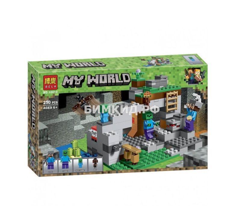 Конструктор Bela Minecraft «Пещера зомби» 250 дет. арт. 10810