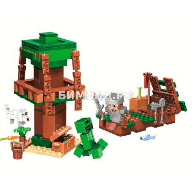 """Конструктор Bela Minecraft """"Нападение с воды"""" 161 дет. арт. 11131"""