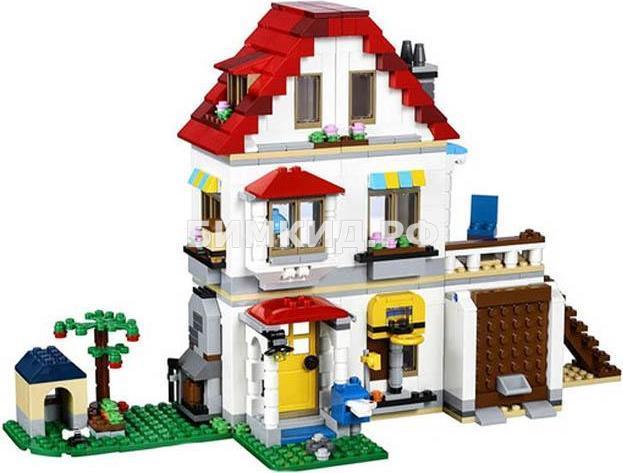 """Конструктор Lele Minecraft  """"Элитный частный дом 3 в 1"""" 738 деталей .арт.33077"""