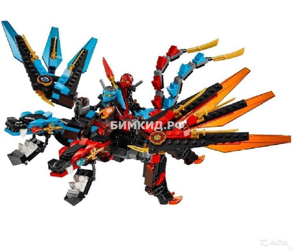 "Конструктор Tenma Ninja "" Дракон"" 684 дет. арт.TM6402 (Ninjago)"