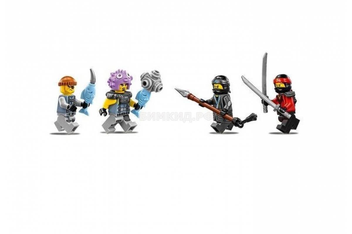 """Конструктор Bela Ninja """" Водяной Робот"""" 518 дет. арт.10717 (Ninjago)"""