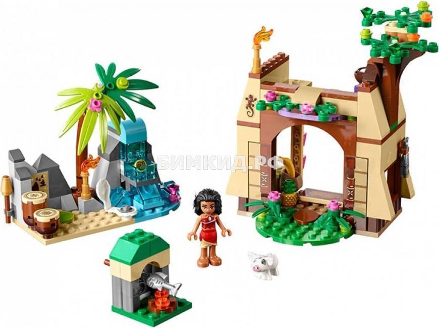 """Конструктор Bela Ocean Enchanted """"Приключения Моаны на затерянном острове"""" 206 дет. арт. 10662"""