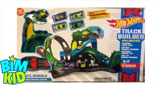 """Набор """"Зеленый дракон"""" (Хот Вилс, Hot Wheels)"""