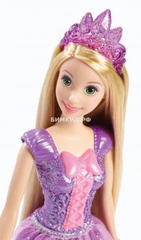 Кукла Рапунцель в блестящем платье