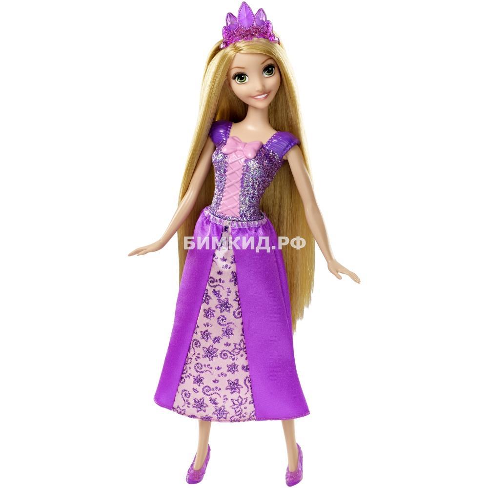 Кукла Рапунцель в платье