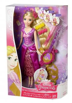Кукла рапунцель с  аксессуароми для прически