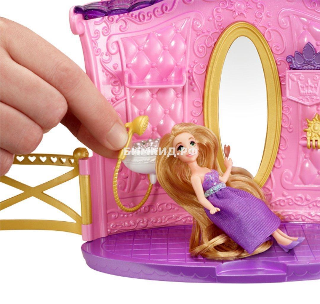 Набор парекмахерская рапунцель с куклой