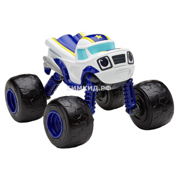 Машинка Смельчак с раздвижными колесами, музыкой и подсветкой Вспыш и Чудо-машинки