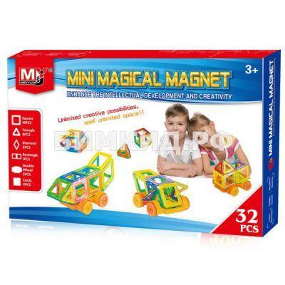 32 дет. Магнитный Мини конструктор, Magical Magnet