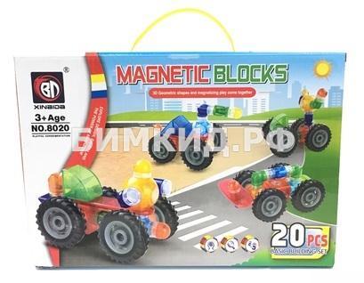 20 дет. Магнитный конструктор Magical Blocks