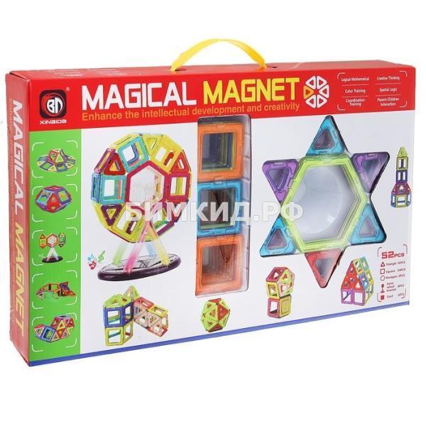 52 дет. Магнитный 3D конструктор, Magical Magnet
