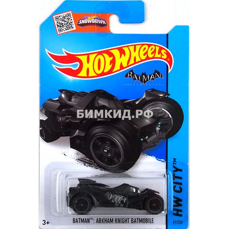 Машинка Бэтмен Хот Вилс  Hot Wheels