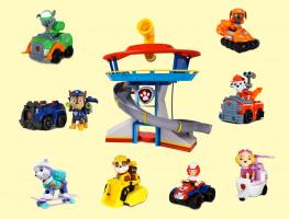 Офис Спасателей + Набор из 8 героев с машинками (Щенячий Патруль | Paw Patrol )