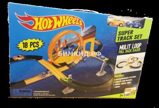 Трасса бесконечности + 2 машинки (Хот Вилс | Hot Wheels)
