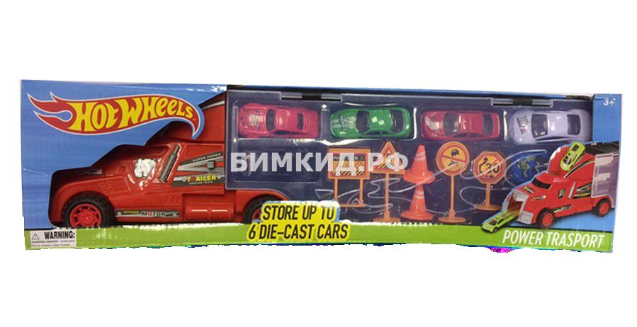 Трейлер для перевозки машинок (Хот Вилс  Hot Wheels)