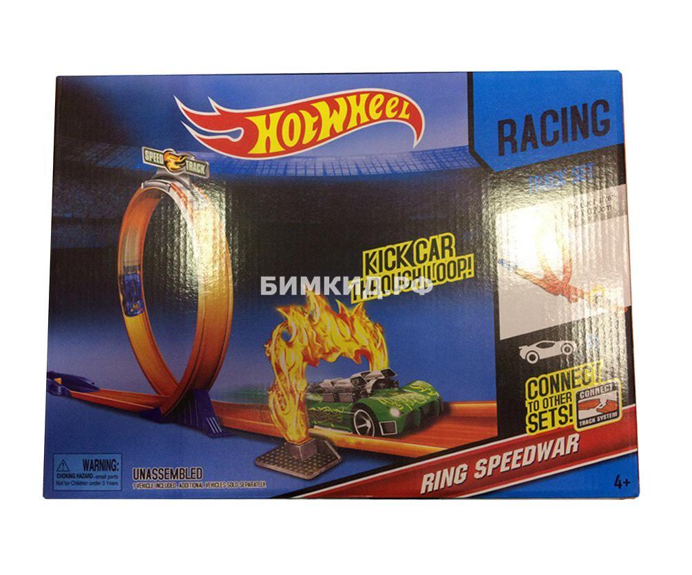 Набор война скорости с пусковым механизмом (Хот Вилс  Hot Wheels)