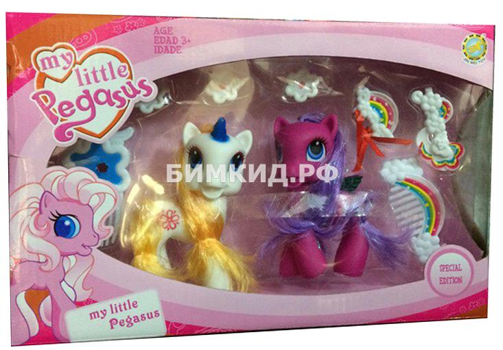 """Набор """"Воздушные прически"""" 2 пони (My Little Pegasus)"""