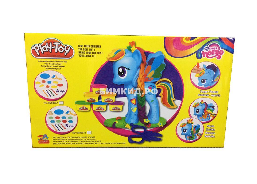 "Набор для творчества из пластилина ""Пони Play-Toy"" (My Little Horse)"