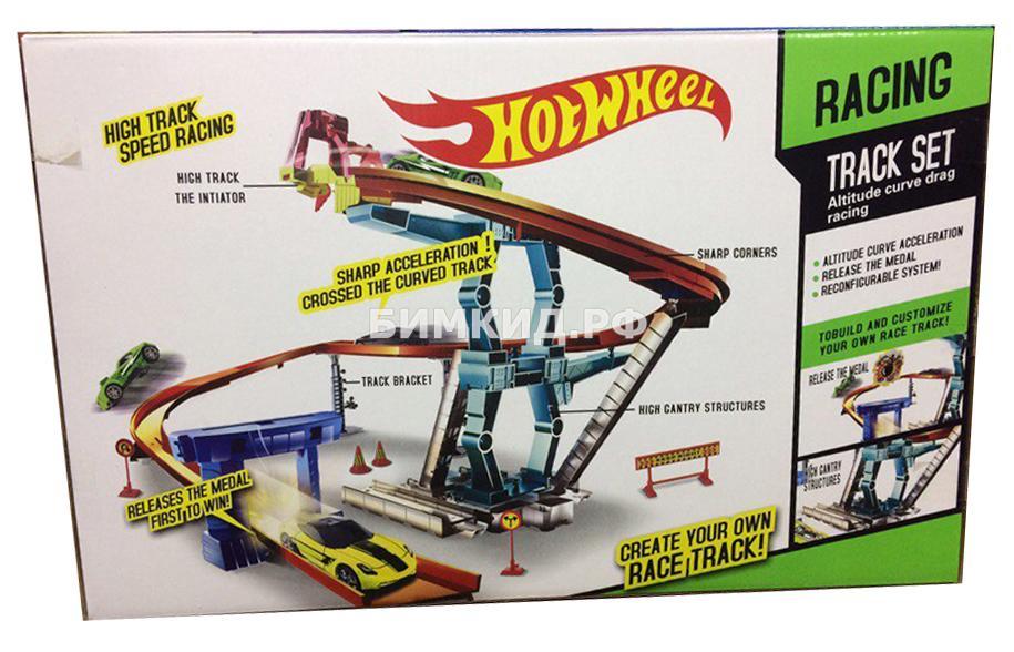 Набор Жажда скорости + 2 машинки Хот Вилс (Hot Wheels)