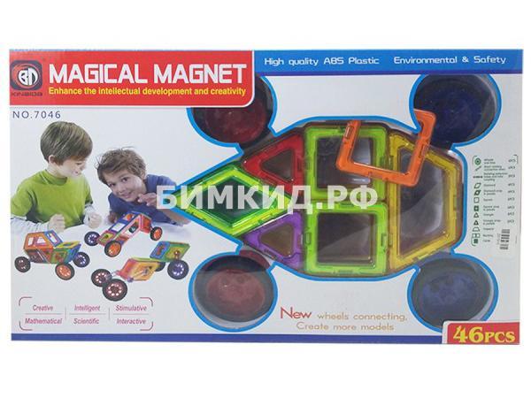 46 дет. Магнитный конструктор Magical Magnet